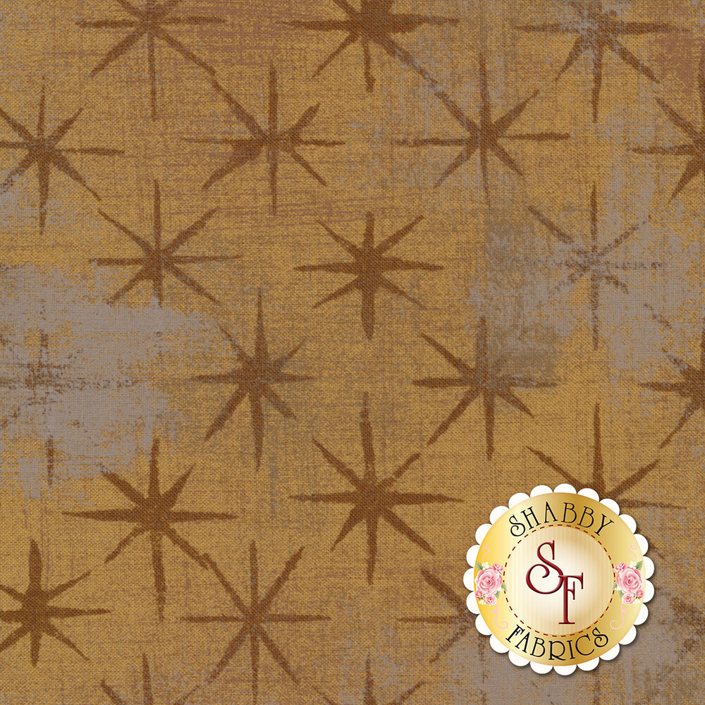 Grunge Seeing Stars 30148-17 Kraft by Moda Fabrics