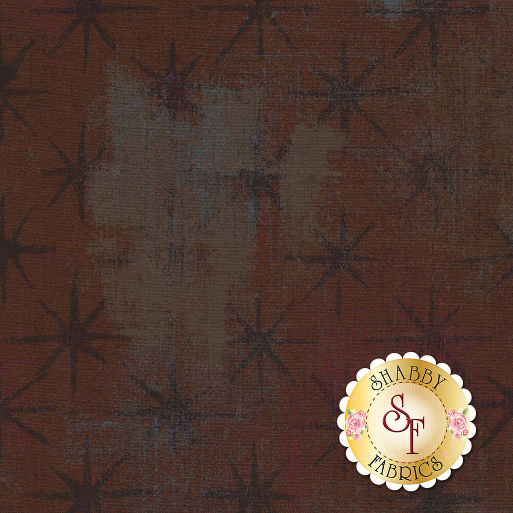 Grunge Seeing Stars 30148-19 Hot Cocoa by Moda Fabrics