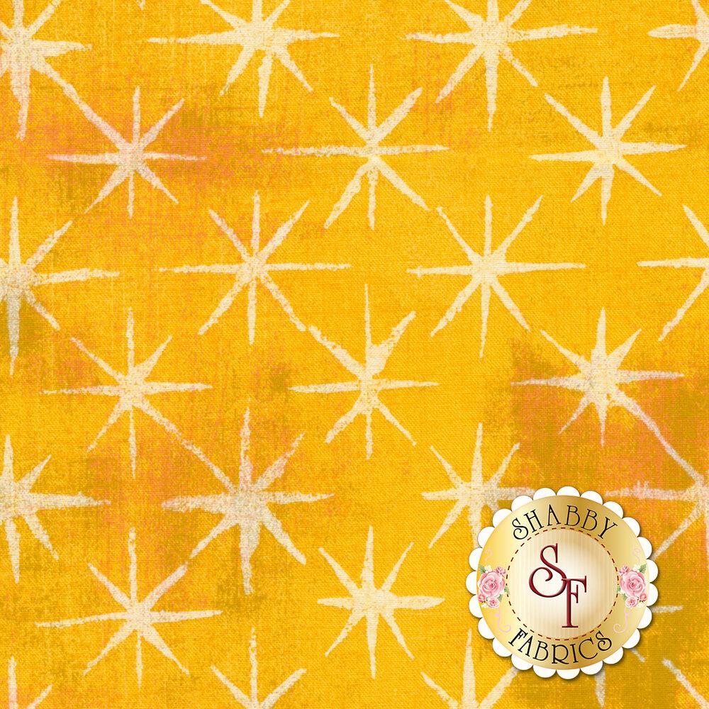 Grunge Seeing Stars 30148-20 Sunflower by Moda Fabrics