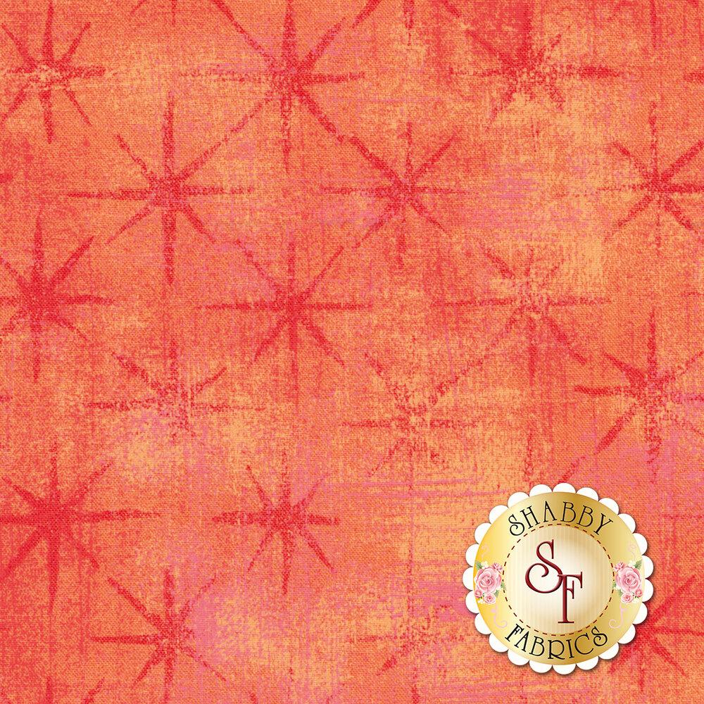 Grunge Seeing Stars 30148-23 Papaya Punch by Moda Fabrics