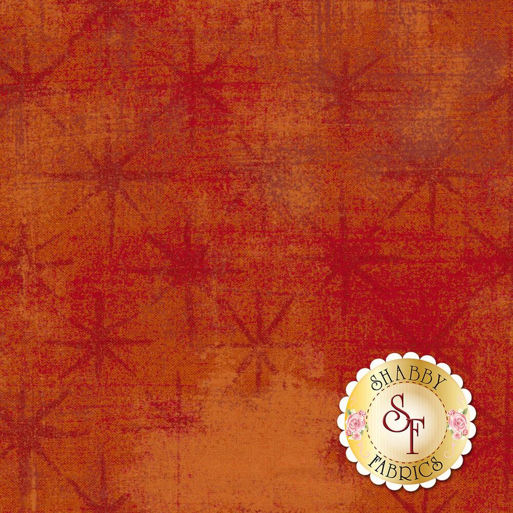 Grunge Seeing Stars 30148-25 Pumpkin by Moda Fabrics