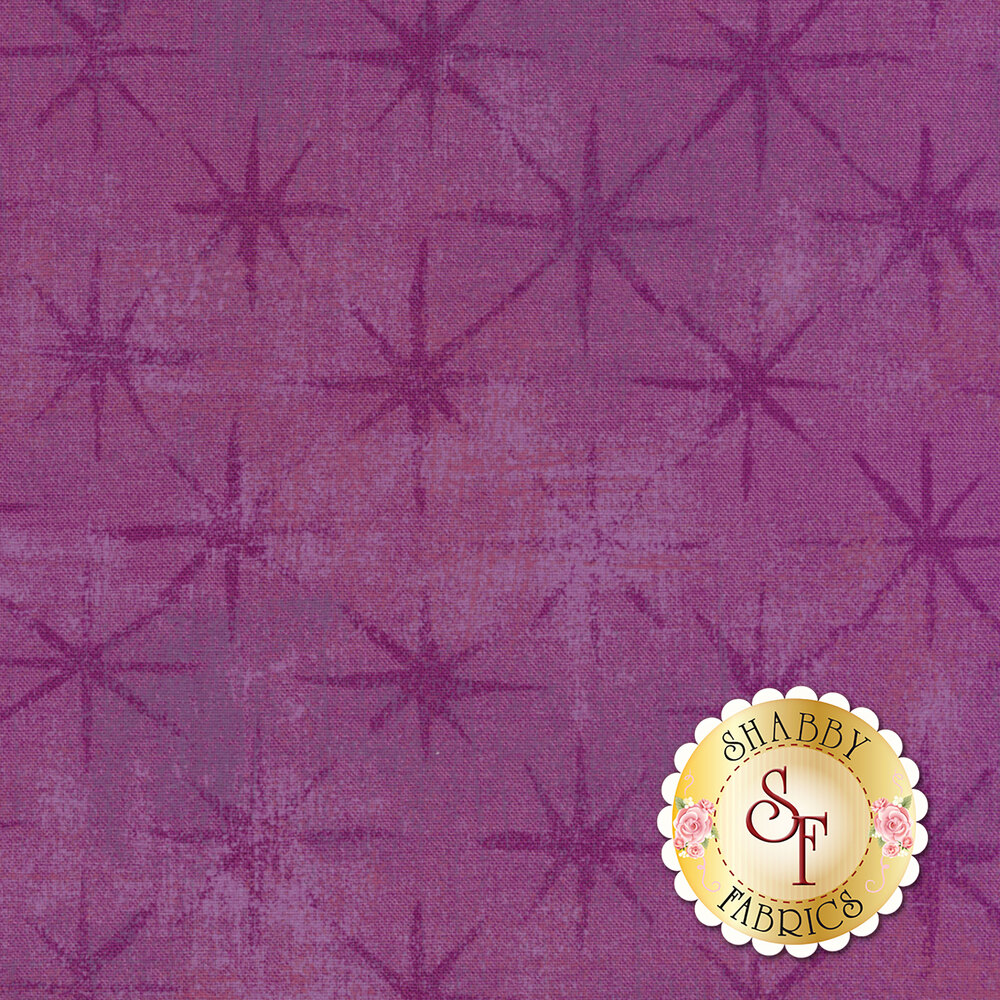 Grunge Seeing Stars 30148-34 Grape by Moda Fabrics