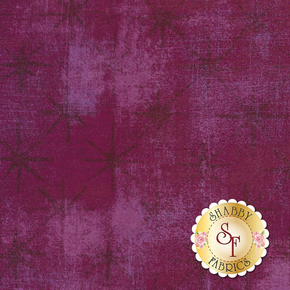 Grunge Seeing Stars 30148-35 Plum by Moda Fabrics