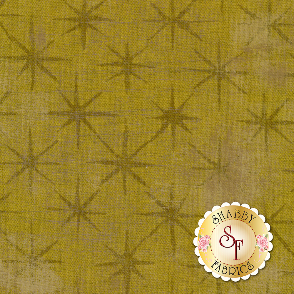 Grunge Seeing Stars 30148-50 Kelp by Moda Fabrics