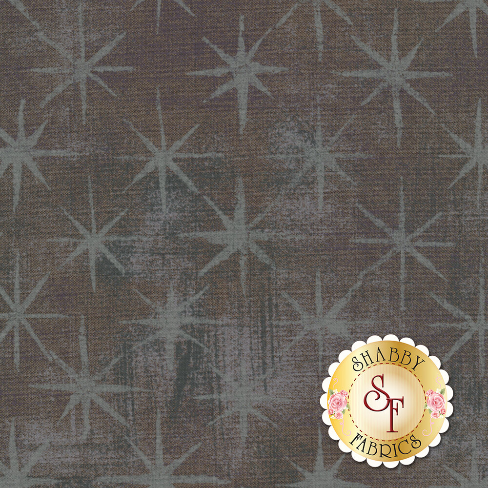 Grunge Seeing Stars 30148-58 Gris Fonce by Moda Fabrics