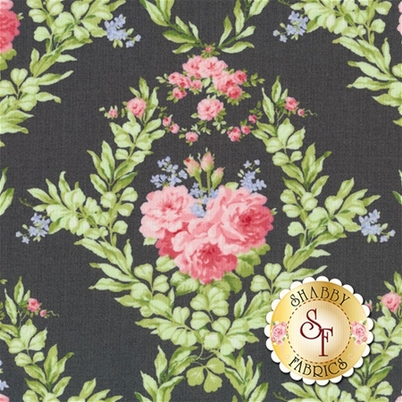 Guernsey 18640-17 Charcoal by Brenda Riddle for Moda Fabrics- REM
