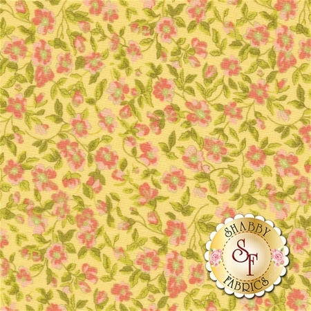 Guernsey 18641-14 Soft Yellow by Brenda Riddle for Moda Fabrics