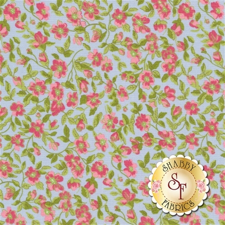 Guernsey 18641-16 Sky by Brenda Riddle for Moda Fabrics