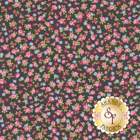 Guernsey 18644-17 Charcoal by Brenda Riddle for Moda Fabrics
