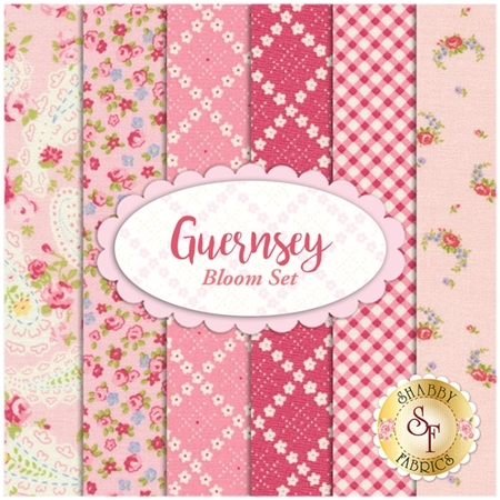 Guernsey  6 FQ Set - Bloom Set by Brenda Riddle for Moda Fabrics