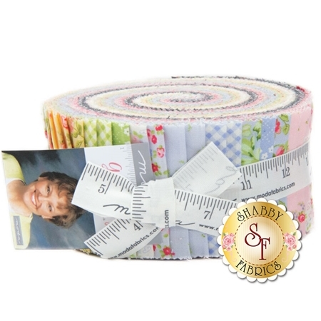 Guernsey  Jelly Roll by Brenda Riddle for Moda Fabrics