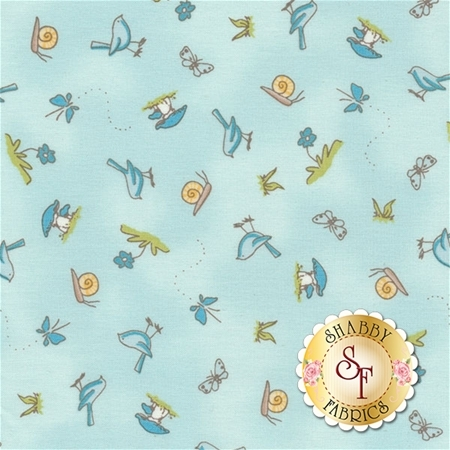 Guess How Much I Love You III  Y2113-32 by Anita Jeram for Clothworks Fabrics