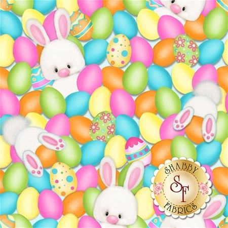 Hop To It! 6855-21 by Henry Glass Fabrics