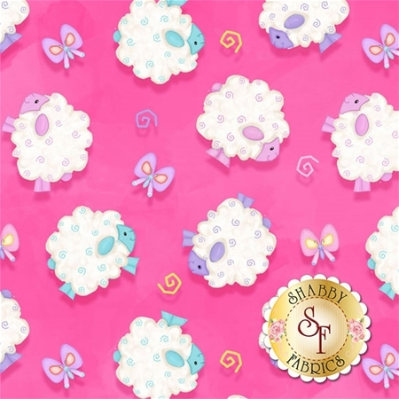Hop To It! 6859-22 by Shelly Comiskey for Henry Glass Fabrics