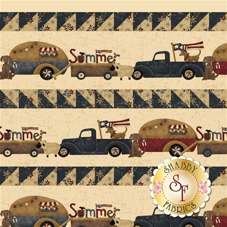 Spirit Of America 8870-44 by Stacy West for Henry Glass Fabrics