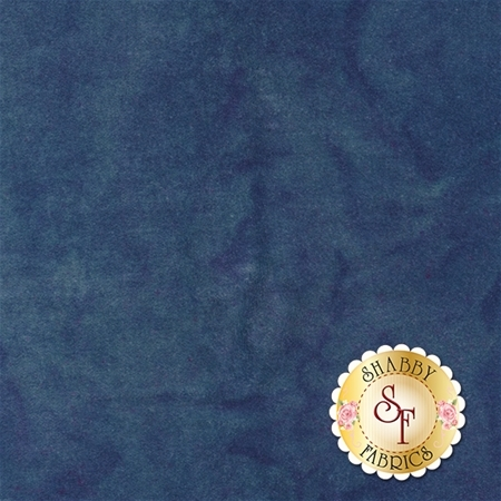 Hand-Dyed Velvet Fat Quarter - Cobalt by Blackberry Primitives