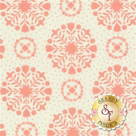 Handmade 55141-13 Coral Cream by Bonnie & Camille for Moda Fabrics