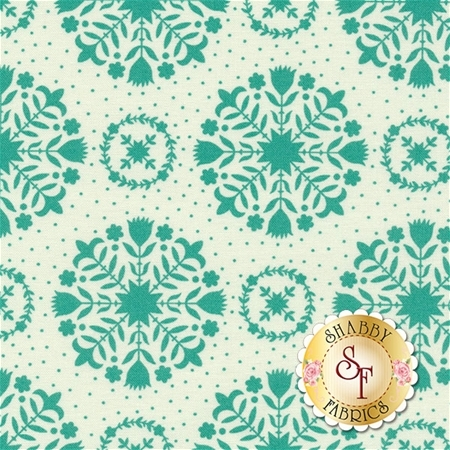 Handmade 55141-15 Teal Green by Bonnie & Camille for Moda Fabrics