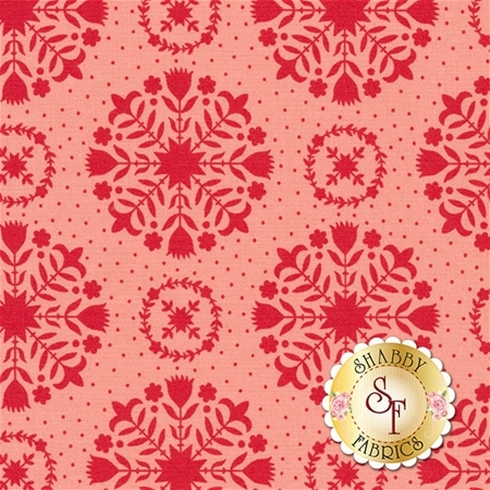 Handmade 55141-23 Red Coral by Bonnie & Camille for Moda Fabrics