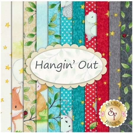 Hangin' Out  11 FQ Set by Quilting Treasures