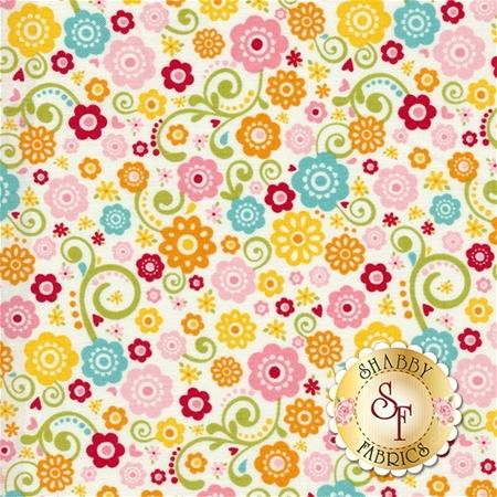 Happy Day C5911-MULTI by Lori Whitlock for Riley Blake Designs