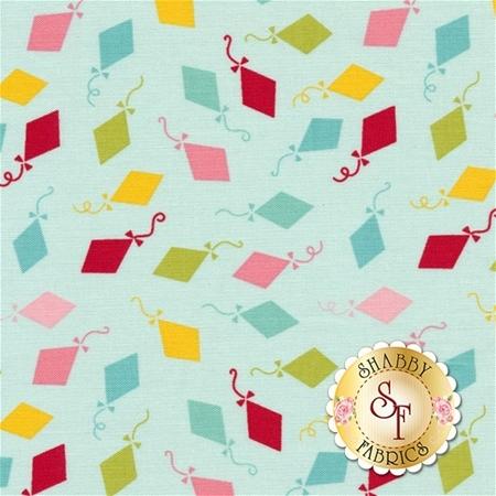 Happy Day C5913-AQUA by Lori Whitlock for Riley Blake Designs