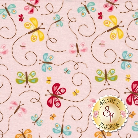 Happy Day C5914-PINK by Lori Whitlock for Riley Blake Designs