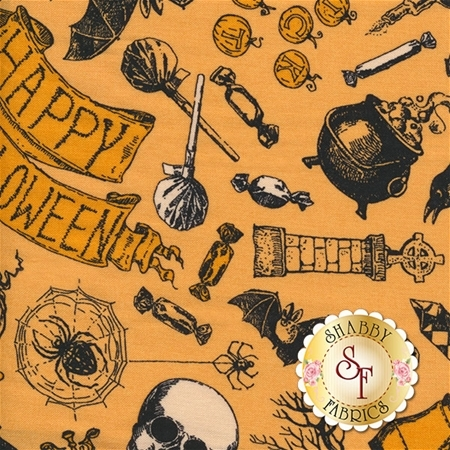 Happy Halloween 62517-B770715 by Patrick Lose Fabrics