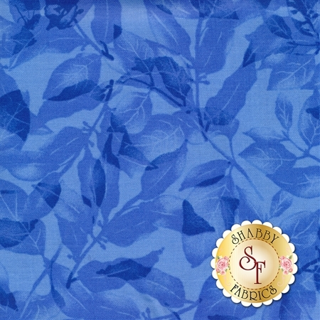 Harmony C5545-Blue by Chong-a Hwang for Timeless Treasures Fabrics