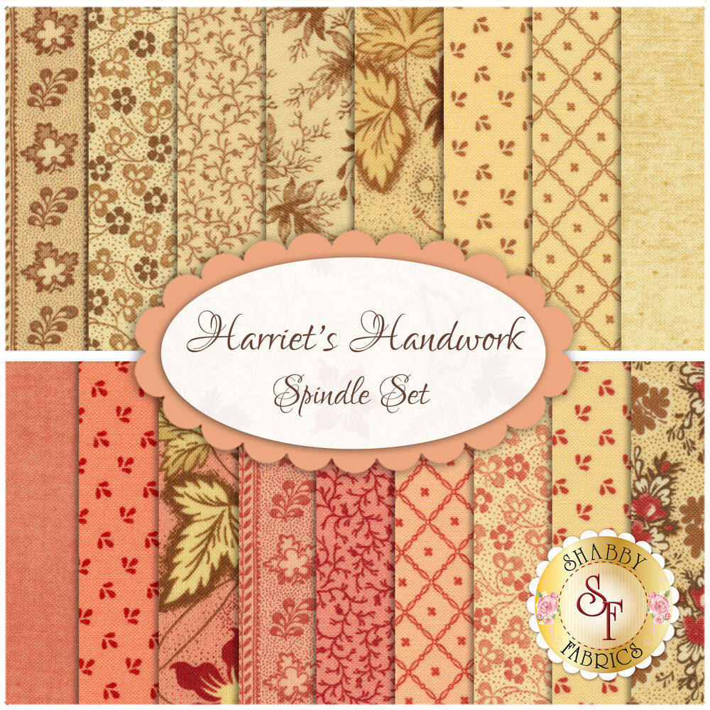 Harriet's Handwork Fat Quarter Set for Moda Fabrics