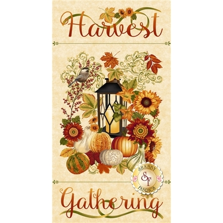 Harvest Gathering 8768P-44 Cream by Color Principle for Henry Glass Fabrics