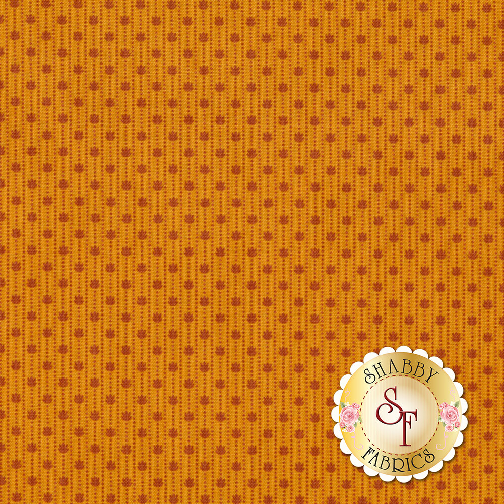 Harvest Moon 8853-O Orange Paw Prints by Andover Fabrics