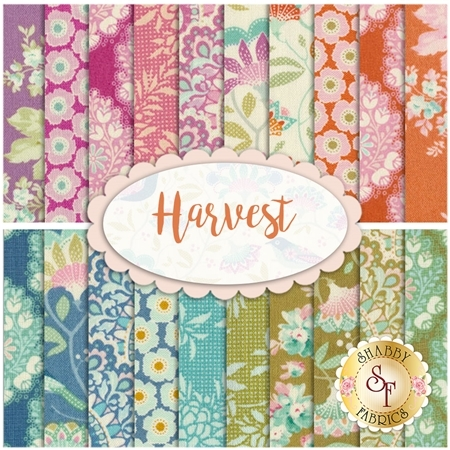 Harvest  20 FQ Set by Tone Finnanger for Tilda