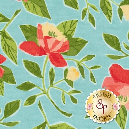 Hazelwood 36010-19 Robins Egg by One Canoe Two for Moda Fabrics