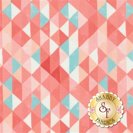 Hazelwood 36012-18 Coral by One Canoe Two for Moda Fabrics