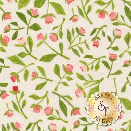 Hazelwood 36013-18 Coral by One Canoe Two for Moda Fabrics