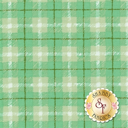 Hazelwood 36014-13 Mint by One Canoe Two for Moda Fabrics