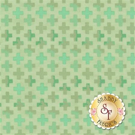 Hazelwood 36015-13 Mint by One Canoe Two for Moda Fabrics