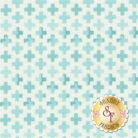 Hazelwood 36015-19 Robins Egg by One Canoe Two for Moda Fabrics