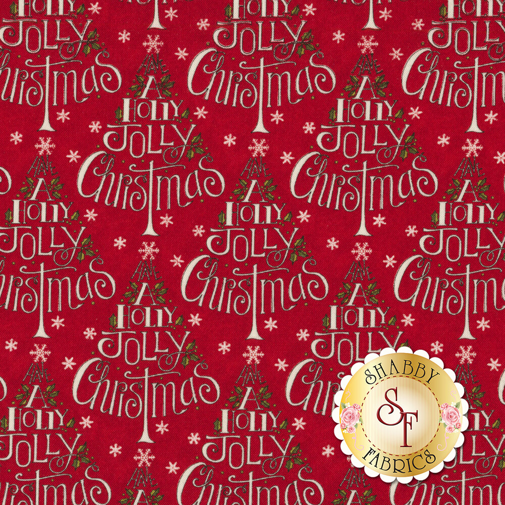 Hearthside Holiday 19831-14 Berry Red for Moda Fabrics