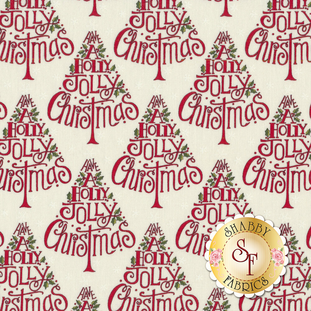 Hearthside Holiday 19831-16 Snowy White for Moda Fabrics