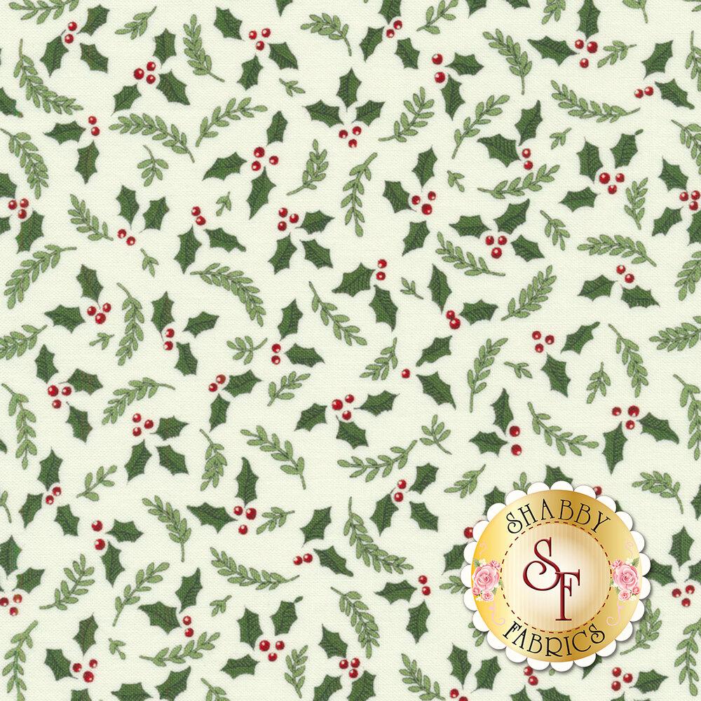 Hearthside Holiday 19833-11 Snowy White for Moda Fabrics