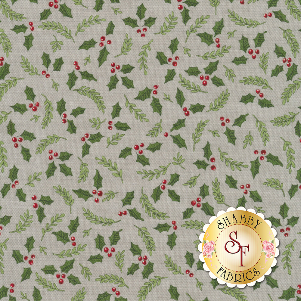 Hearthside Holiday 19833-12 Slate Grey for Moda Fabrics