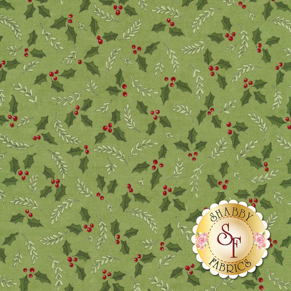 Hearthside Holiday 19833-16 Pine Green for Moda Fabrics