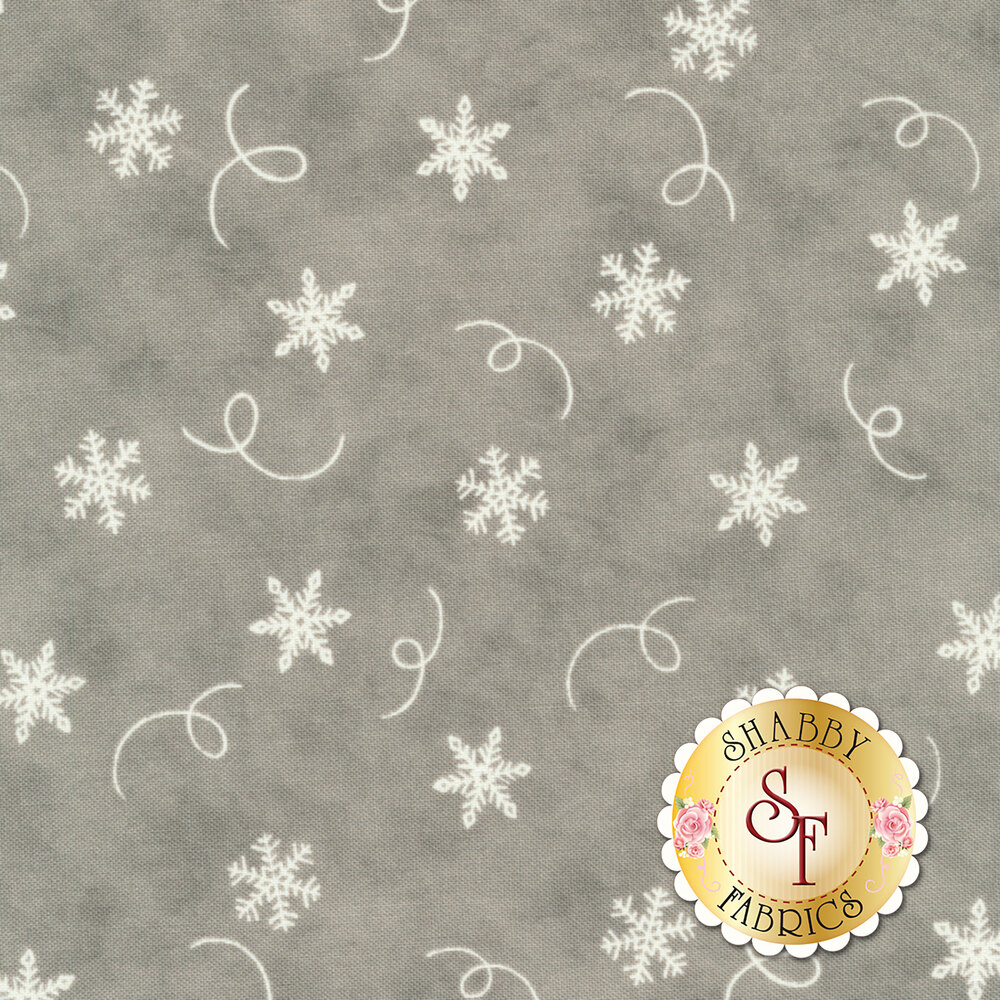 Hearthside Holiday 19834-13 Slate Grey for Moda Fabrics