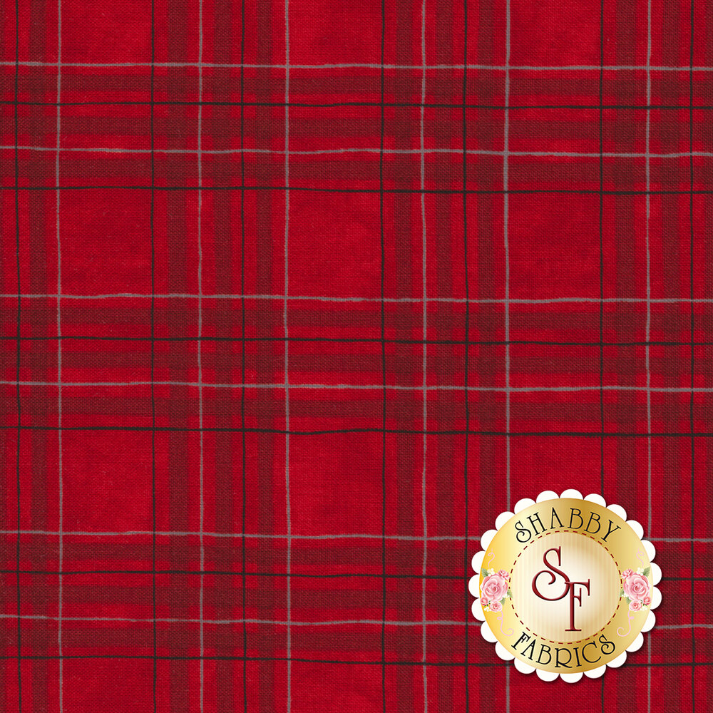 Hearthside Holiday 19835-16 Berry Red by Deb Strain for Moda Fabrics