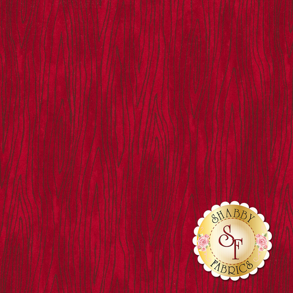 Hearthside Holiday 19837-14 Berry Red by Deb Strain for Moda Fabrics