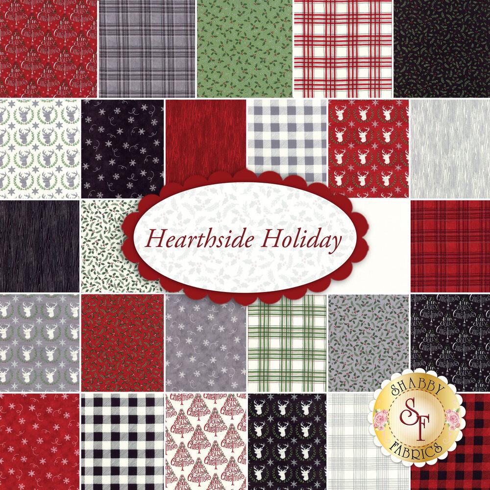 Hearthside Holiday  Yardage by Deb Strain for Moda Fabrics