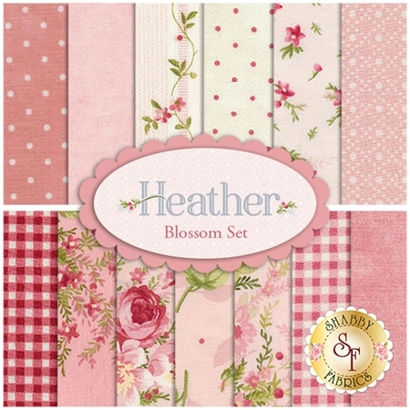 Heather  13 Half Yard Set - Blossom Set by Jennifer Bosworth for Maywood Studio