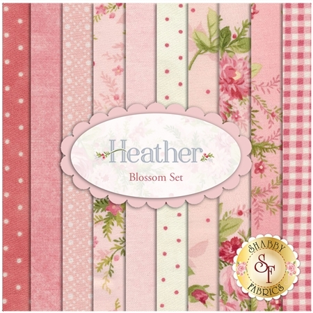 Heather  10 FQ Set - Blossom Set by Jennifer Bosworth for Maywood Studio Fabrics